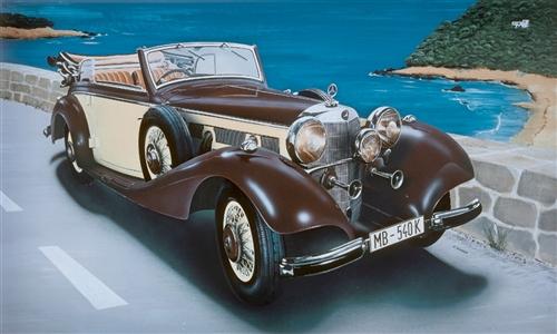 ITALERI 3701 Mercedes Benz 540k