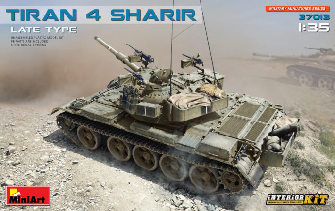 Miniart 37013 TIRAN 4 SHARIR LATE TYPE. INTERIOR KIT Modellismo