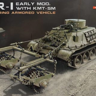 Miniart 37034 BMR-1 Early Mod. with KMT-5M