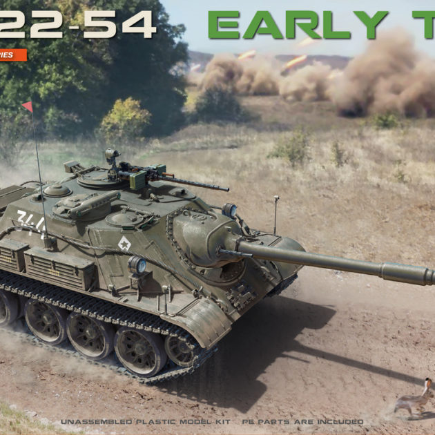 Miniart 37035 SU-122-54 EARLY TYPE Modellismo