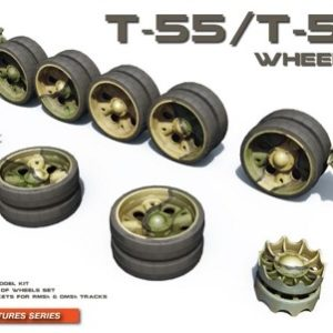 Miniart 37058 T-55/T-55A Wheels Set