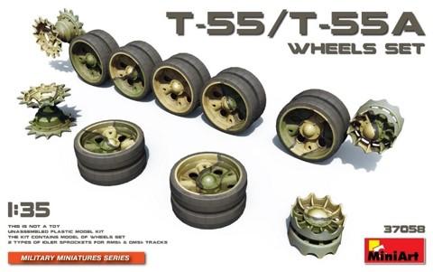 Miniart 37058 T-55/T-55A Wheels Set