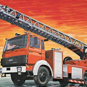 Italeri 3784 1/24 Iveco-Magirus DLK 23-12 Fire Ladder