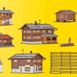 Kibri 38010 Tipico borgo di montagna