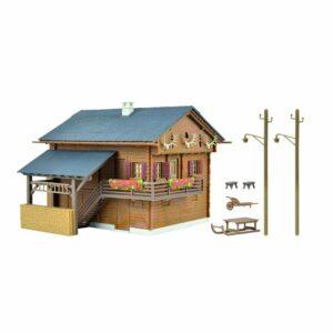Kibri 38011 Casa di montagna con illuminazione LED