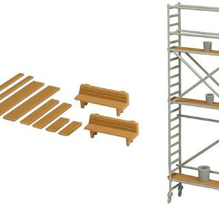 Kibri 38145 PONTEGGIO in kit