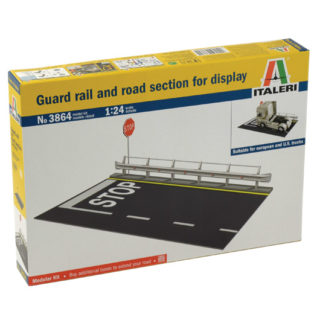 ITALERI 3864 Guard Rail And Road Section For Display