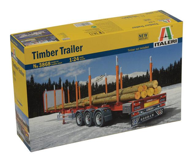 ITALERI 3868 Timber Trailer