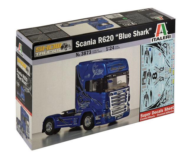 "ITALERI 3873 Scania R620 ""Blue Shark"""