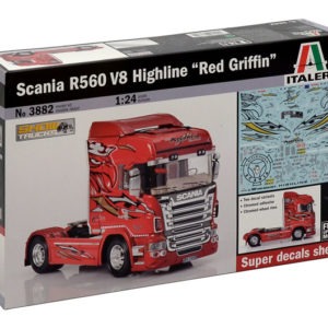 """ITALERI 3882 Scania R560 V8 Highline """"Red Griffin"""""""