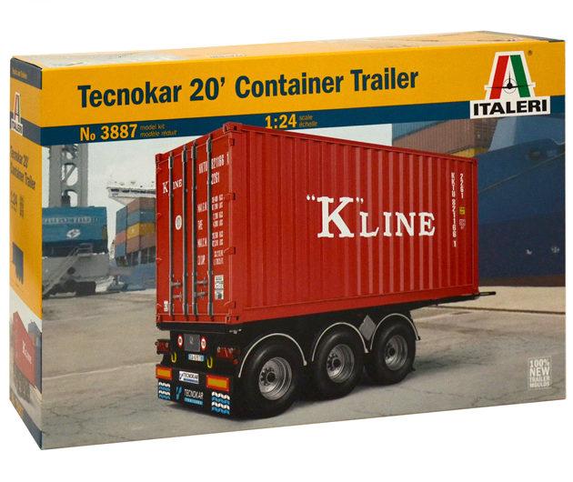 Italeri 3887 20' CONTAINER TRAILER