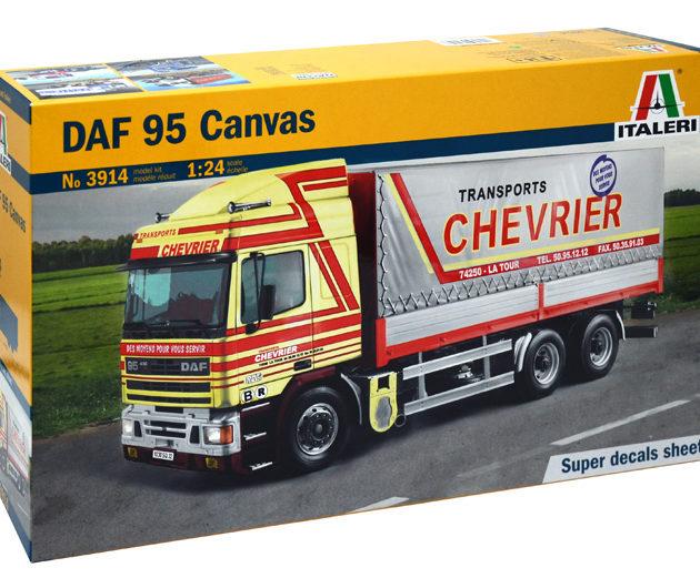 Italeri 3914 DAF 95 CANVAS TRUCK