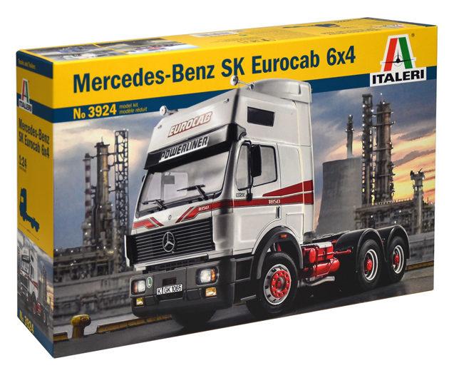 Italeri 3924 MERCEDES BENZ SK EUROCAB 6x4