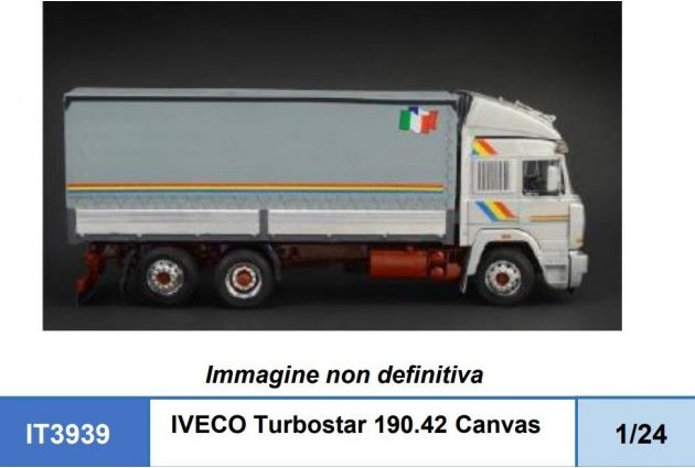 Italeri 3939 IVECO Turbostar 190.42 Canvas