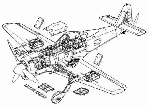 CMK 4042 DETTAGLI FW 190F8 TAMIYA Modellismo