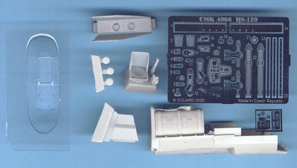 CMK 4066 INTERNI HE 129 HASEGAWA Modellismo