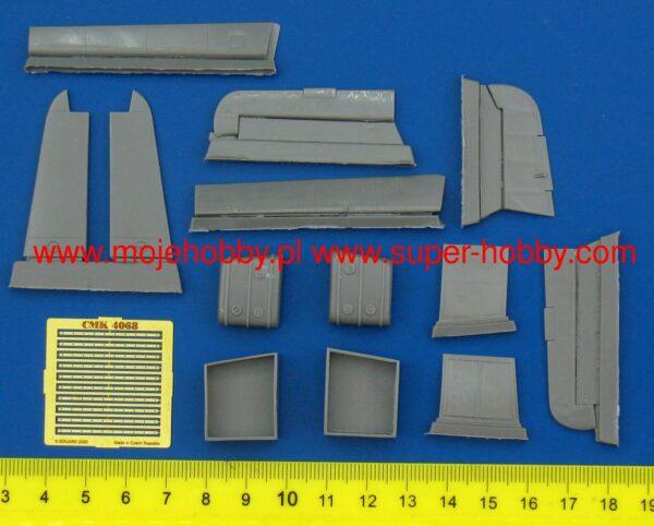 CMK 4068 HS 129 B ESTERNI PER HASEGAWA Modellismo