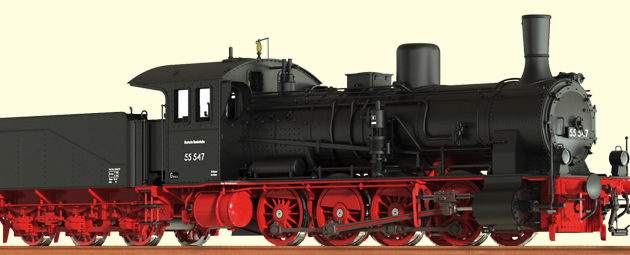 Brawa 40710 Locomotiva vapore G 7.1 DB Digital