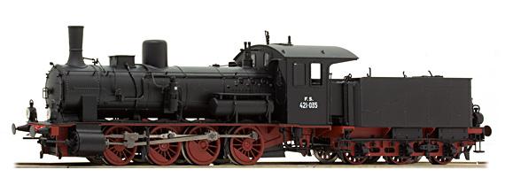 Brawa 40735 Locomotiva a vapore FS 421-035 digital  s Modellismo