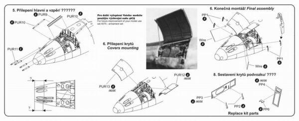 CMK 4075 ME 262A/B ARMAMENTO Modellismo