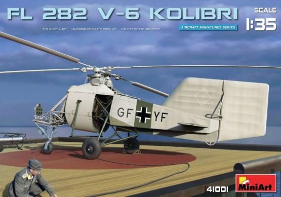 Miniart 41001 Fl 282 V-6 KOLIBRI