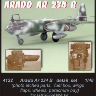 CMK 4122 ARADO AR 234 B dettagli Modellismo