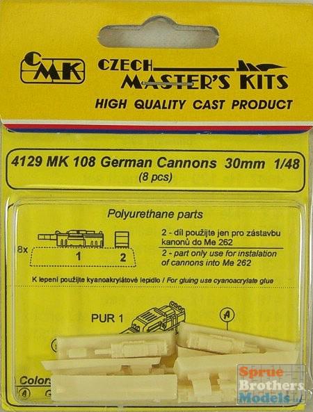 CMK 4129 GERMAN CANNONS MK 108 30 Modellismo