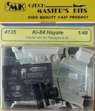 CMK 4135 KI-84 Hayate INTERNI X HASEGAWA Modellismo