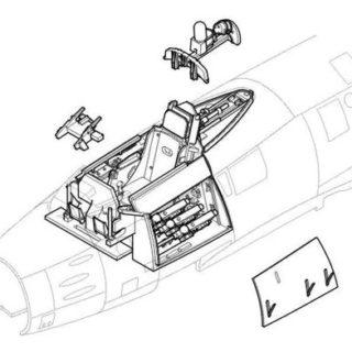 CMK 4145 F-86 SABRE - INTERNI Modellismo