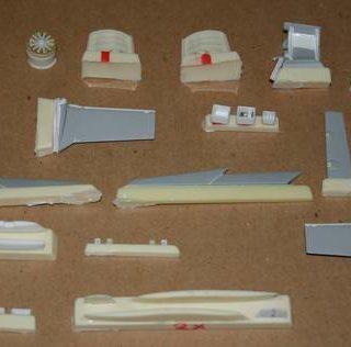 CMK 4150 JAS 39 GRIPEN - ACCESSORI Modellismo
