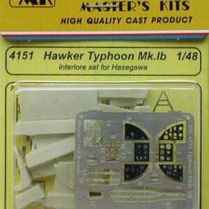 CMK 4151 HAWKER TYPHOON MK.Ib-INTERNI Modellismo