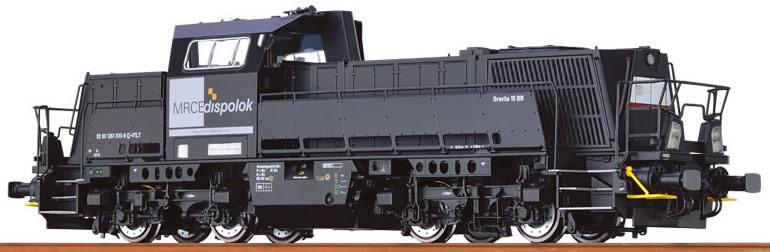 "Brawa 42761 Locomotore Gravita 10 BB ""MRCE"" Digi.sou"