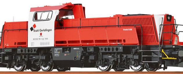 "Brawa 42773 Locomotore Gravita 10 BB ""Stahl  Gerlafin"