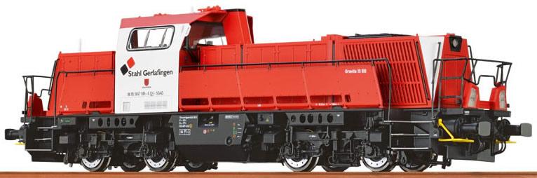 "Brawa 42773 Locomotore Gravita 10 BB ""Stahl  Gerlafin Modellismo"