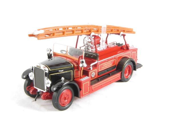 YatMing 43009B Leyland FK-1 pompiere - rosso