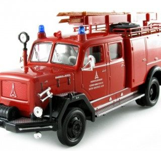 YatMing 43015x Magirus-Deutz 150D pompiere rosso/nero