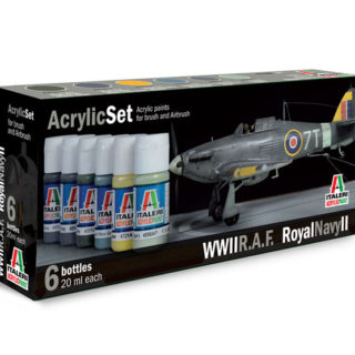 Italeri 444AP ACRYLIC SET R.A.F./ROYAL NAVY II