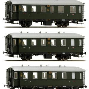 Brawa 45500 Carrozza passeggeri Ci-33 BCi  34 DRG SET  3 Modellismo