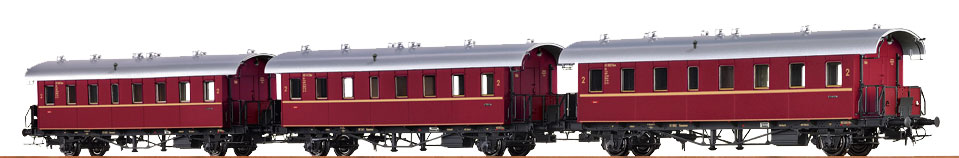 Brawa 45978 SET CARROZZA PASSEGGERI DB Modellismo