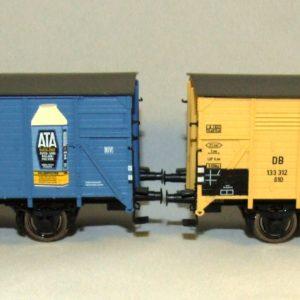 Brawa 45988 Set 2 carri accoppiati limitati HO