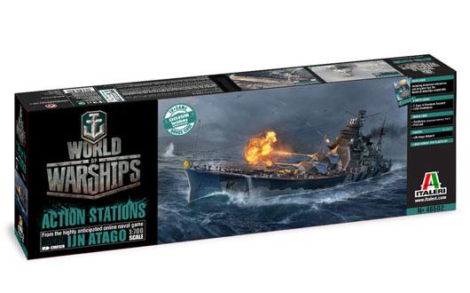 ITALERI 46502 World of Warships series USS Essex Modellismo