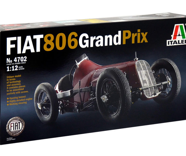 ITALERI 4702 FIAT 806 GRAN PRIX in kit di montaggio