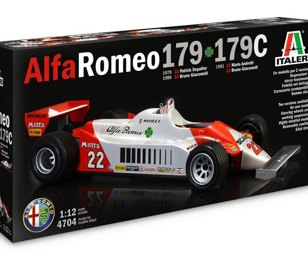 Italeri 4704 ALFA ROMEO 179 / 179C Modellismo