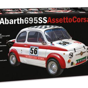 ITALERI 4705 FIAT Abarth 695 SS/ ASSETTO CORSA Modellismo