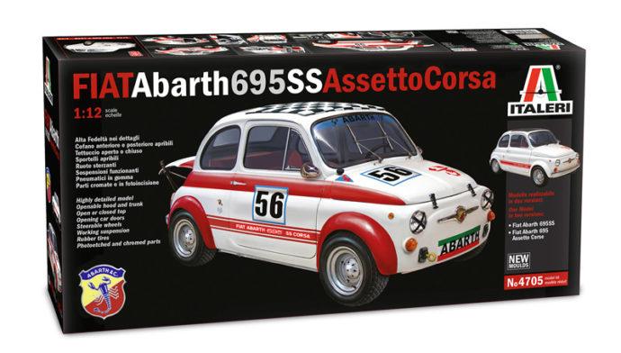 ITALERI 4705 FIAT Abarth 695 SS/ ASSETTO CORSA