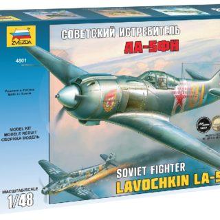 ZVEZDA 4801 La-5 Fn Soviet Fighter