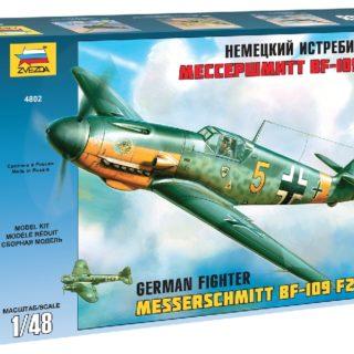 ZVEZDA 4802 Bf-109 F2/F4