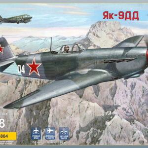 Modelsvit 4804 YAK-9DD LONG RANGE FIGHTER Modellismo