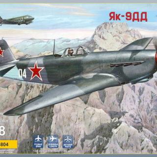 Modelsvit 4804 YAK-9DD LONG RANGE FIGHTER