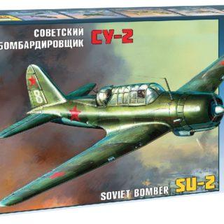 ZVEZDA 4805 Su-2 Soviet Light Bomber